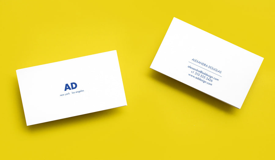 Themed Business Card Contemporaries