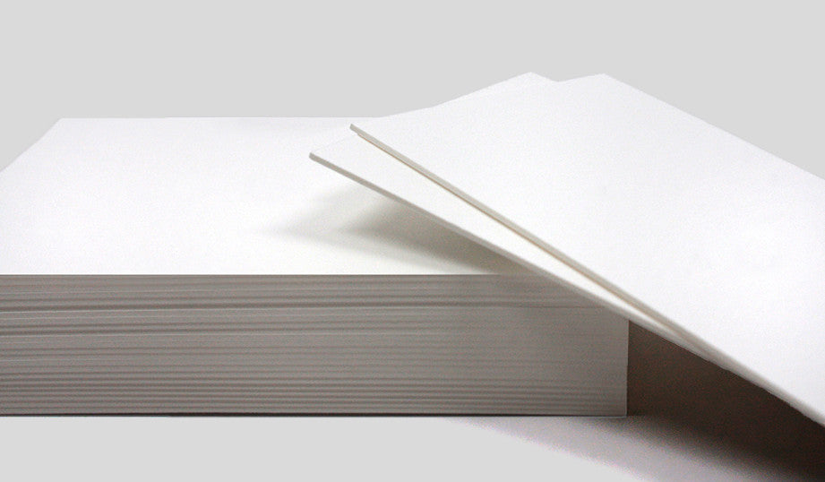 Your work goes the extra mile, shouldn't your business cards? Opt for our double-thick paper that won't bend or fold. That's right. Suddenly this sumptuous 20pt. paper sounds like a must.