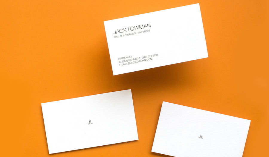 Themed Business Card Entertain Me