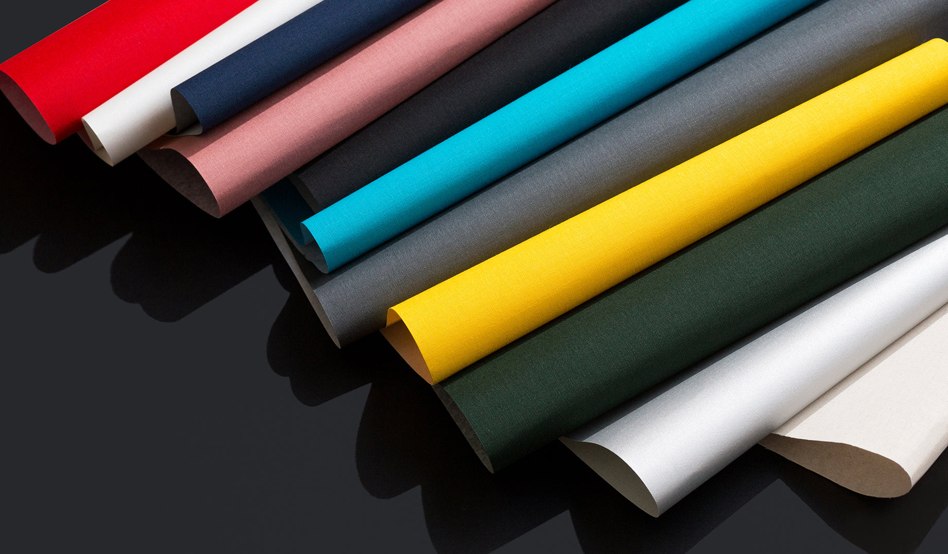 Paper Chase Press uses only premium American-made linen for all of its handmade hardcovers. Choose from black, charcoal gray, royal blue, or natural white.