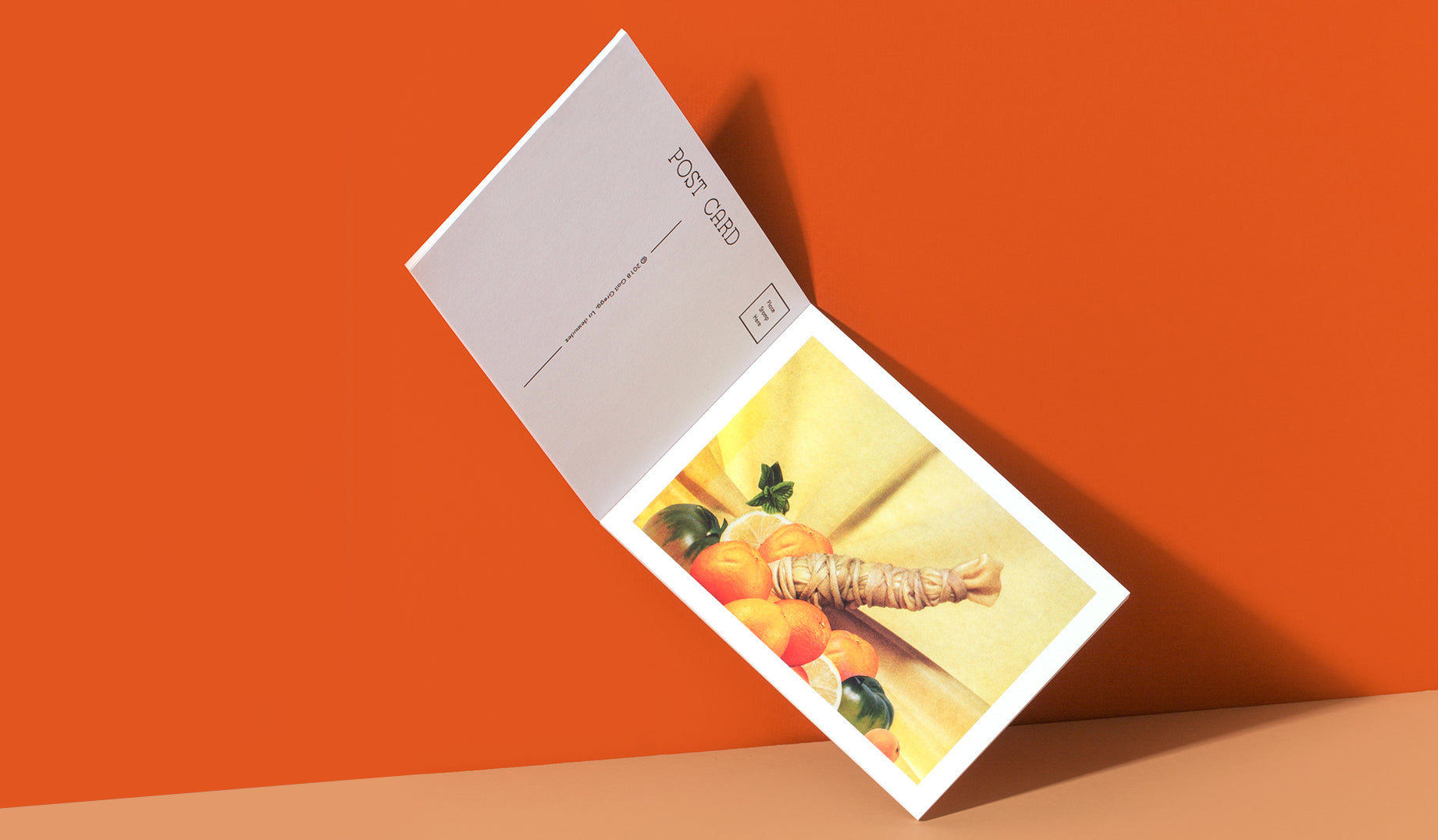 Impress your clients with a postcard notepad as a promo. Include a wide range of your images in a format they can use for their own personal correspondence.