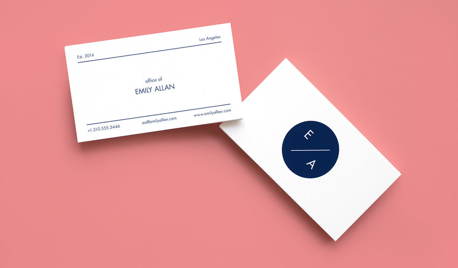 Themed Business Card Office Of