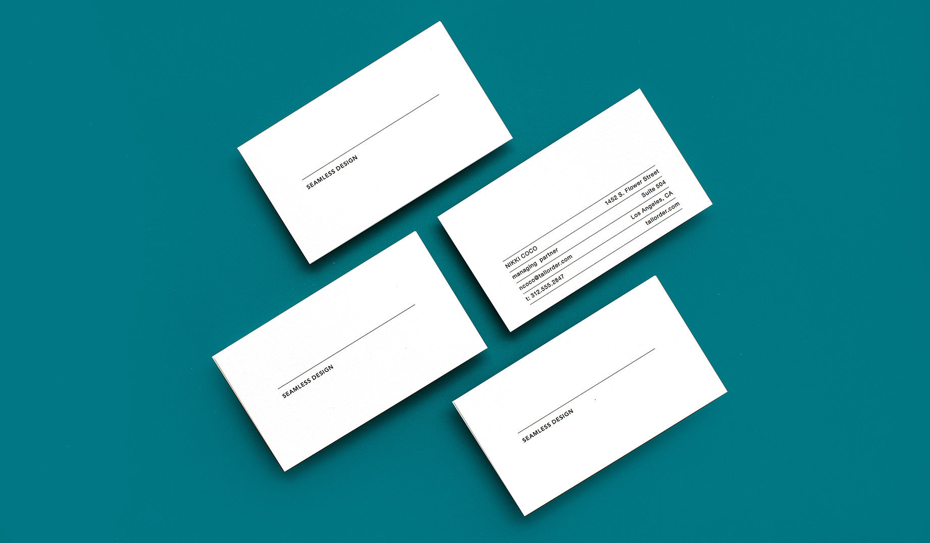 Themed Business Card Streamline – Paper Chase Press