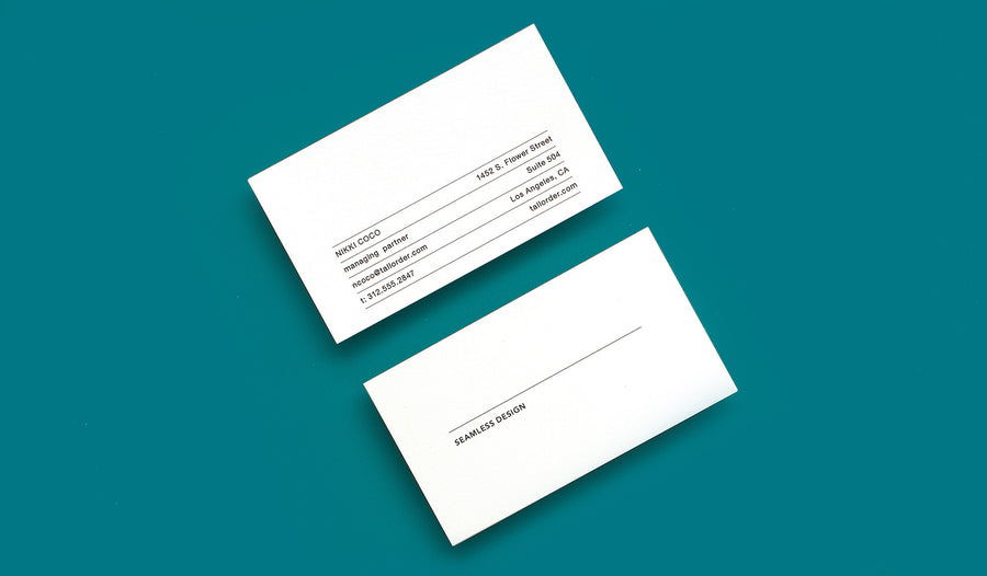 Themed Business Card Streamline