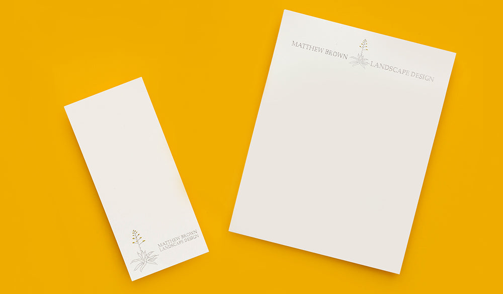 Letterhead and Bucklsips
