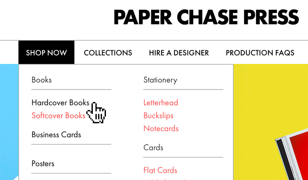 Design Online – Paper Chase Press