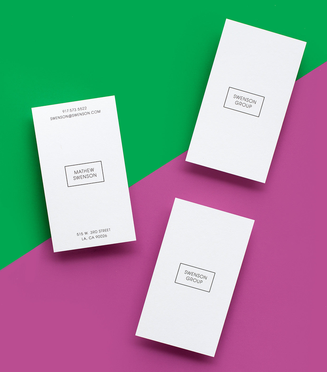 Business Card Design Library – Paper Chase Press