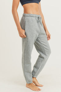 Fleece Billow Pants (Heather Grey)
