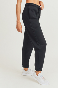 Fleece Billow Pants (Black)