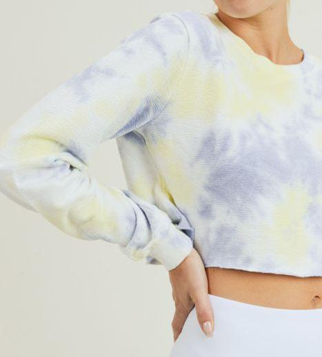 Terry Tie Dye Crop Top