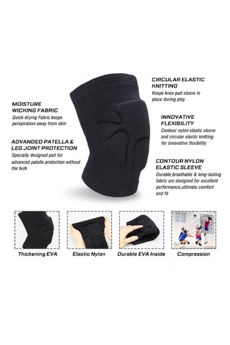 Knitting Knee Pad Foam Knee Support