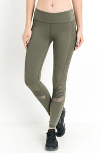 Moto Glide Mesh Full Leggings