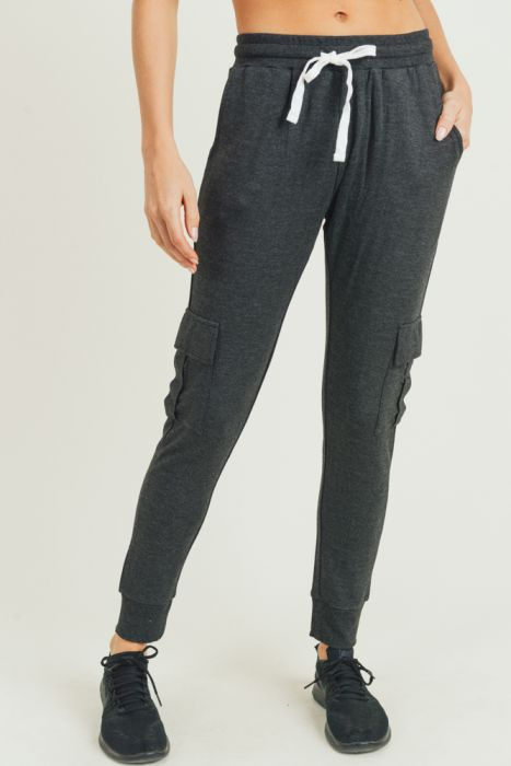 Cargo Brushed Sweatpants Hybrid