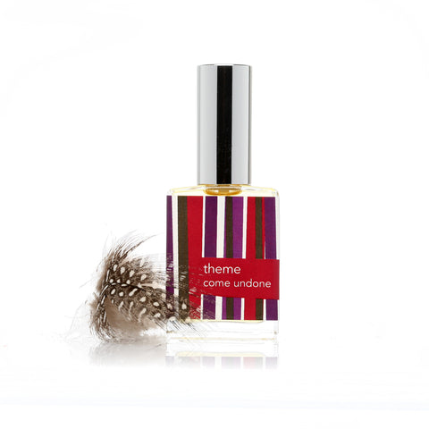 Come Undone ™ perfume spray. Cloves, Woods. - theme-fragrance