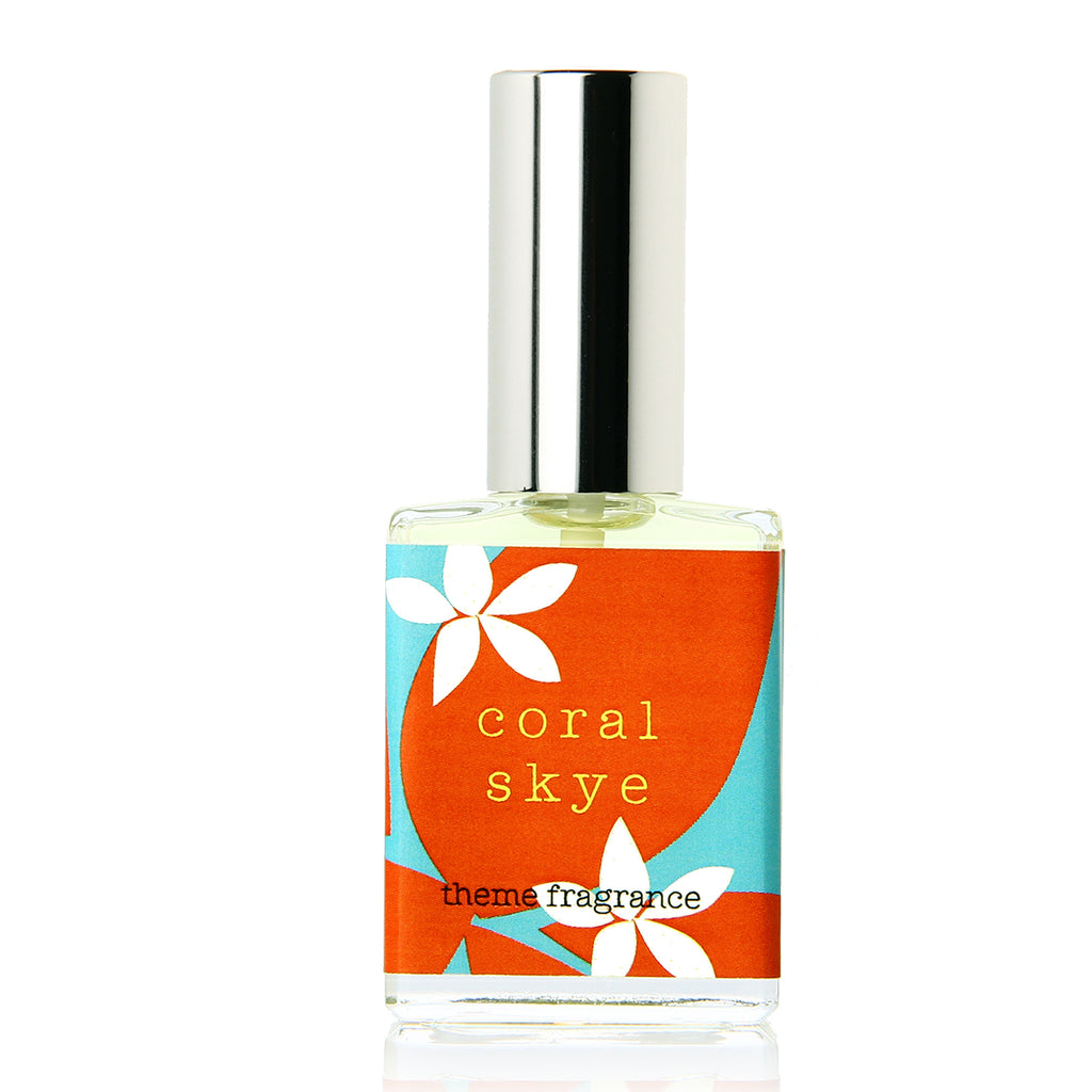 Coral Skye ™ perfume spray. Tropical Fruit, passionfruit - theme-fragrance