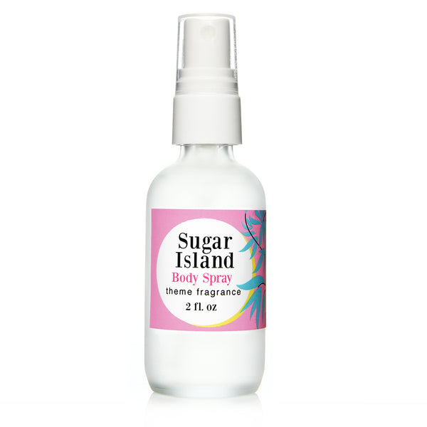 Sugar Island Body Spray. Sweet vanilla, cotton candy by Theme Fragrance