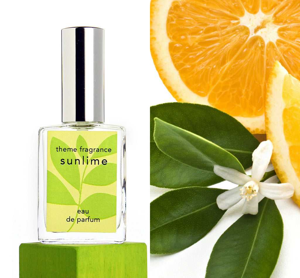 Sunlime ™ perfume spray. Lime, grapefruit, orange, citrus fresh. - theme-fragrance