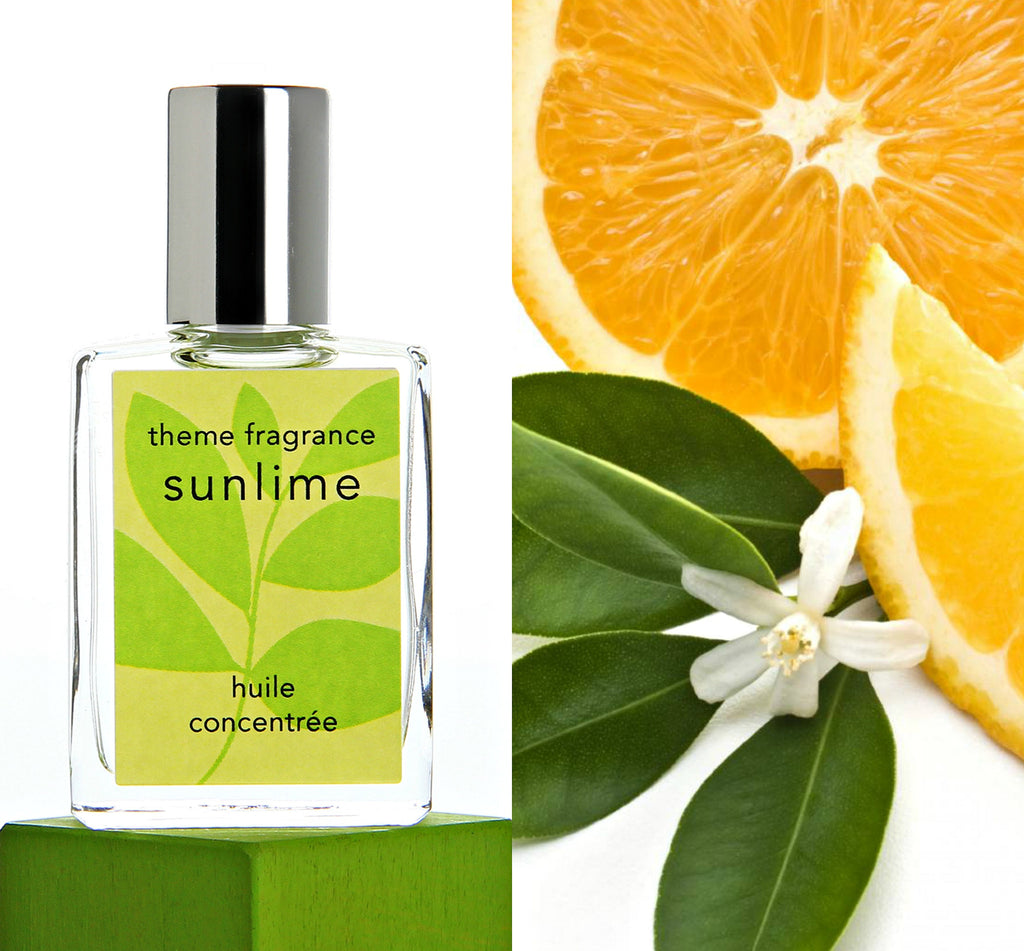 Sunlime ™ perfume oil. Lime, grapefruit, orange, citrus fresh. - theme-fragrance