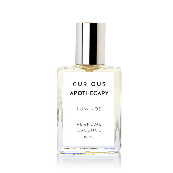 Luminos perfume oil. Creamy sandalwood, moonlit spices by Curious Apothecary - theme-fragrance