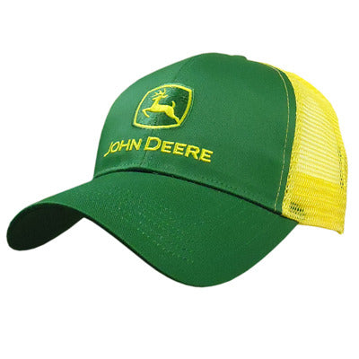 Green w/ Yellow Mesh Hat