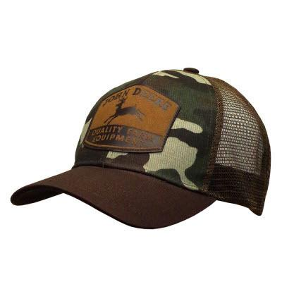 Camo w/ Patch Logo Hat