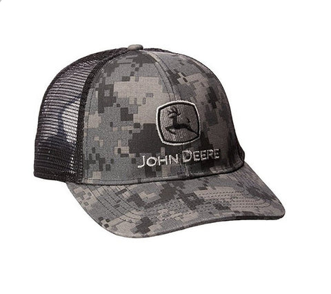 Digital Camo w/ Black Mesh Hat