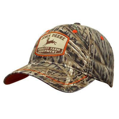 Brown Grass Blade Camo Hat