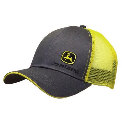 Charcoal w/ Yellow Mesh Hat