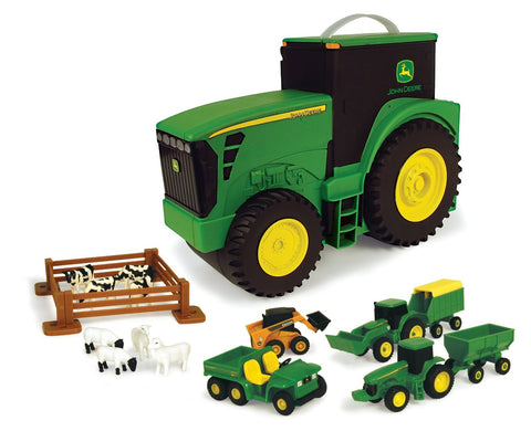 Fun on the Go Tractor Case - 18 piece set