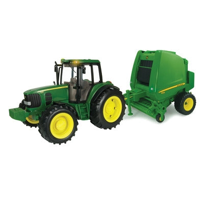 1/16 Big Farm Tractor & Baler Set