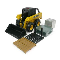 1/16 Big Farm Skid Loader Set