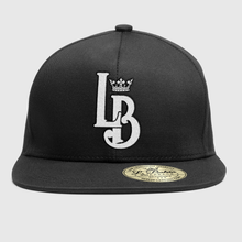 "Load image into Gallery viewer, Crown ""LB"" Logo Snapback"
