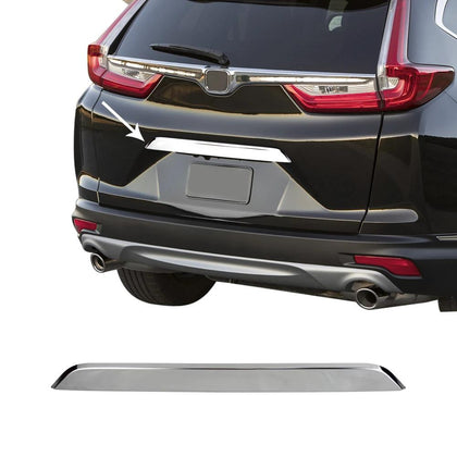 Fits Honda CR-V 2017-2019 Chrome Trunk Lid Grab Handle Cover Stainless Steel Omac Shop Usa - Auto Accessories