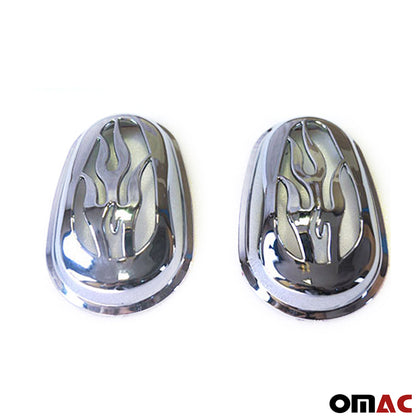 For Ford Transit Connect 2002-2009 Chrome Side Indicator Signal Cover Trim 2 Pcs