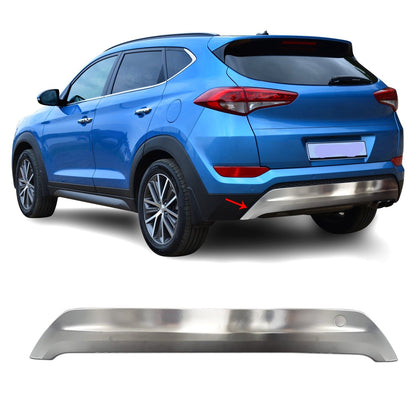 S.Steel Rear Bumper Diffuser for Hyundai Tucson 2016-2018