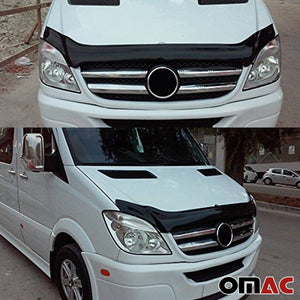 MERCEDES SPRINTER W906 2006-2013 Front Bug Shield Hood Deflector Guard Protector