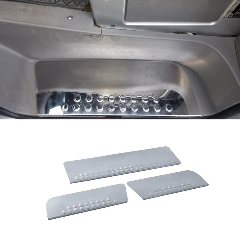 Chrome Door Sill Guard Cover 3 Pcs S.Steel For Dodge Mercedes Sprinter 2007-2018