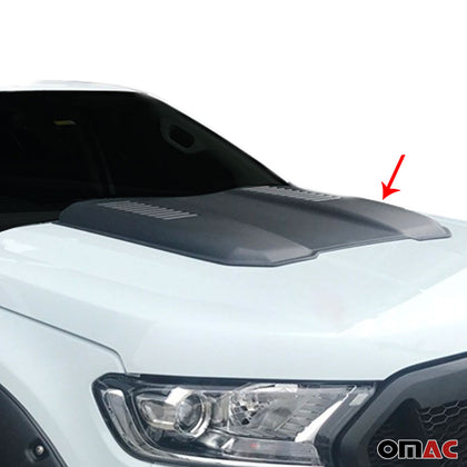 Decorative Air Flow Intake Scoop Bonnet Vent For Volkswagen Amarok 2010-2020