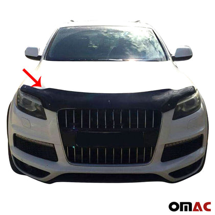 Omac usa - Audi Q7 4L 2006-2015 Bug Shield Hood Deflector Guard Bonnet Protector - Omac Shop Usa - Auto Accessories