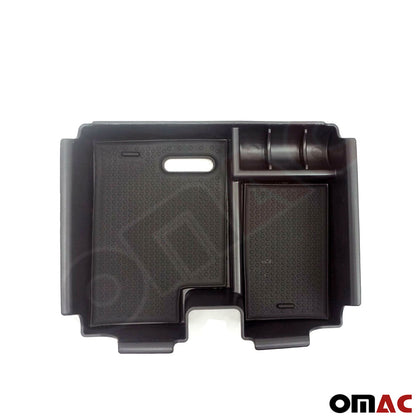 Fits Range Rover Evoque 2012-2019 Black Center Console Armrest Storage Tray Omac Shop Usa - Auto Accessories