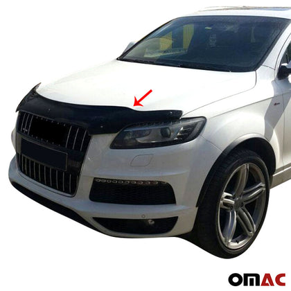 Fits Audi Q7 4L 2006-2015 Bug Shield Hood Deflector Guard Bonnet Protector Omac Shop Usa - Auto Accessories