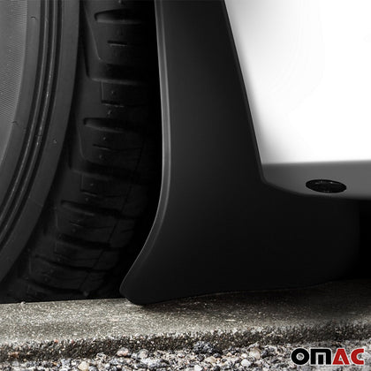 Omac usa - FORD FOCUS 3 SD Rear Mud Flaps Molded Black Splash Guards 2 pcs 2015-2018 - Omac Shop Usa - Auto Accessories