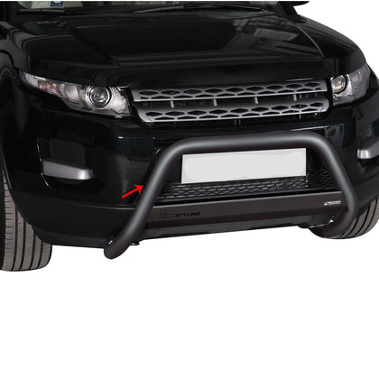 For Range Rover Evoque 2012-2015 Black S.Steel Bull Bar Front Bumper Grill Guard