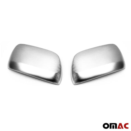 Fits Lexus LX 570 2016-2020 Brushed Steel Chrome Side Mirror Cover Cap 2 Pcs