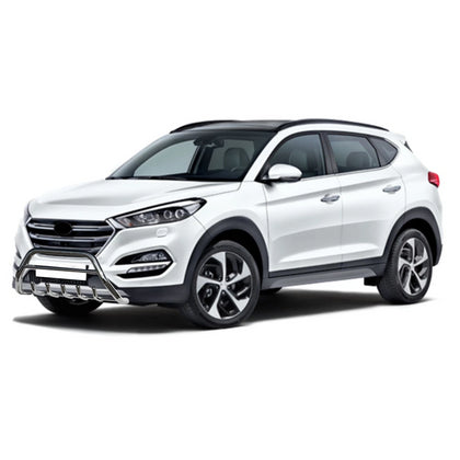 Omac usa - Bull Bar Front Bumper Protection  Stainless Steel for Hyundai Tucson 2016-2018 - Omac Shop Usa - Auto Accessories