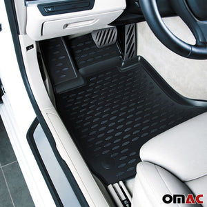Floor Mats Liner 3D Molded Black Set for Toyota Sienna 2011-2019