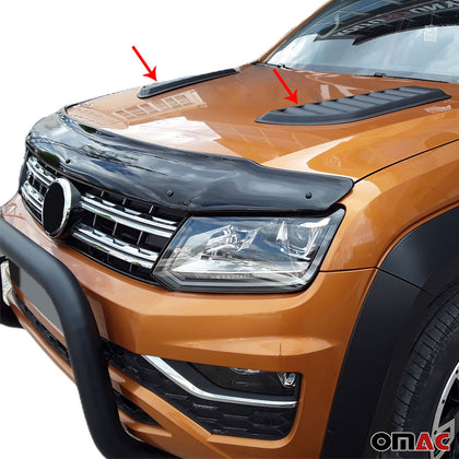 Decorative Air Flow Intake Scoop Bonnet Vent Hood For VW Amarok 2010-2020