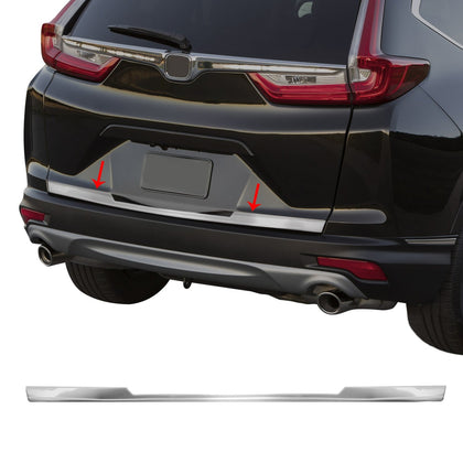 Fits Honda CR-V 2017-2020 Chrome Lower Trunk Trim Tailgate Moulding S.Steel