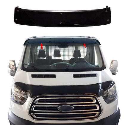 Omac usa - Ford Transit Front Sun Visor Protector Windshield Deflector 2014-2018 - Omac Shop Usa - Auto Accessories