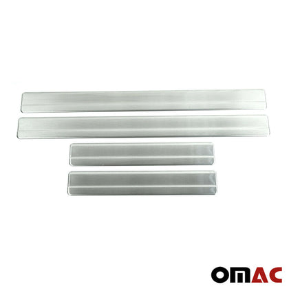 Chrome Door Sill Scuff Plate Guard S.Steel Trim for VW Amarok 2010-2020